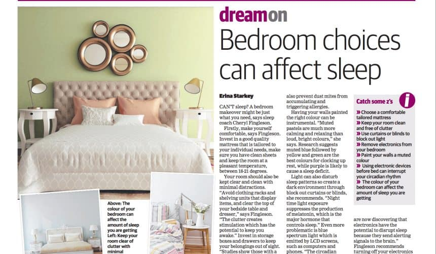 Bedroom choices can affect sleep – Local Manly Daily